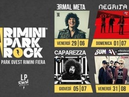 Gli eventi e concerti del Rimini Park Rock durante l'Estate 2018
