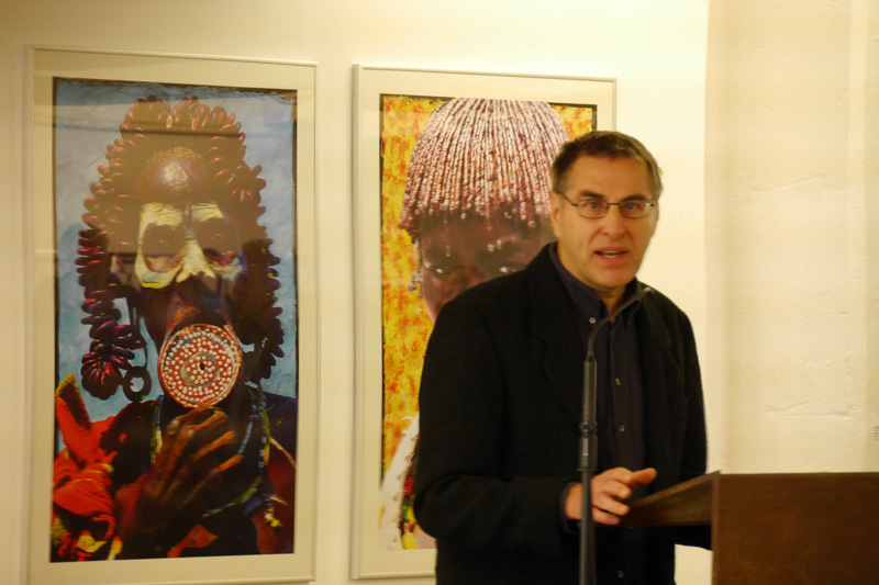 Vernissage Exhibition Ausstellung SPUREN:FINDER Norbert Klora Burchard Vossmann