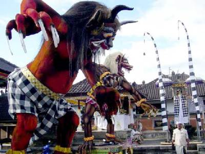 Ogoh ogoh Festival to Welcome the Nyepi Day in Bali ...