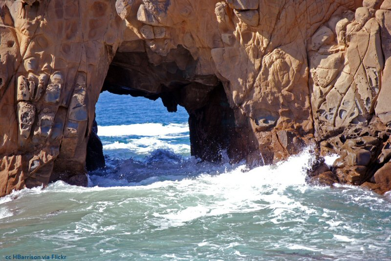 Pfeiffer Beach Keyhole Rock A Look At The Varying Moods Found Here