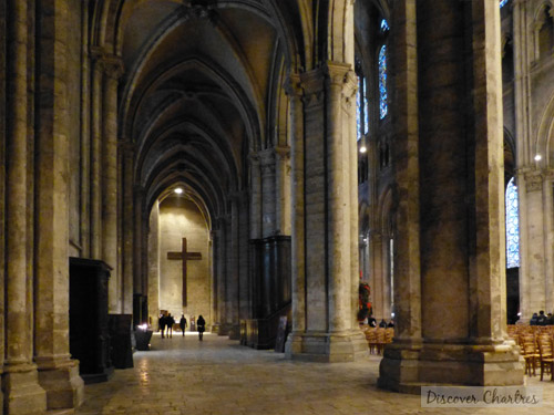 Inside Chartres Cathedral  Nave Central and The Aisles