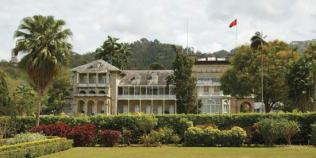 Image result for president's house  trinidad