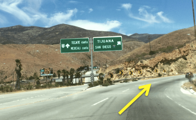 Otay Mesa regular car border directions  Discover Baja