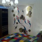 Bedroom and koi