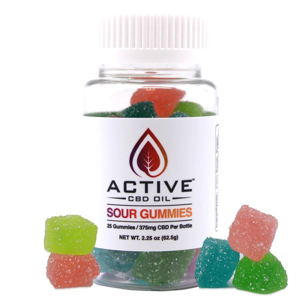 Active CBD oil Gummies