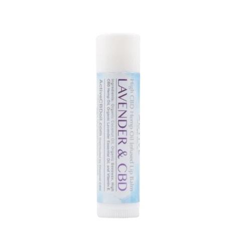 Active CBD Oil Lip Balm Lavender