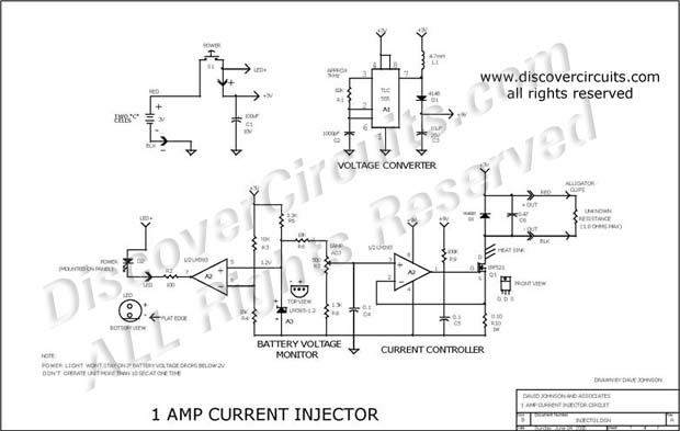 Circuit: 1 Amp Current Injector