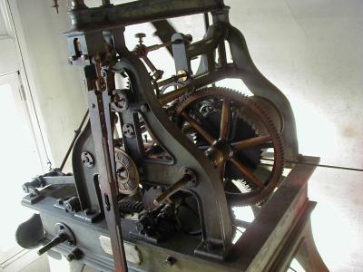 1888 Seth Thomas Tower Clock Mechanism