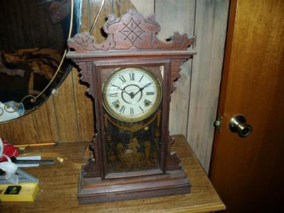 My old Welch Clock handed down to me