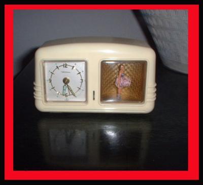 My Wind Up Dancing Ballerina Clock