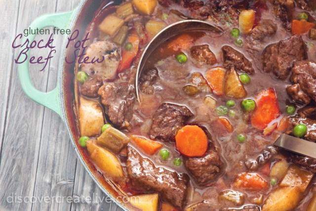 Gluten Free Crock Pot Beef Stew