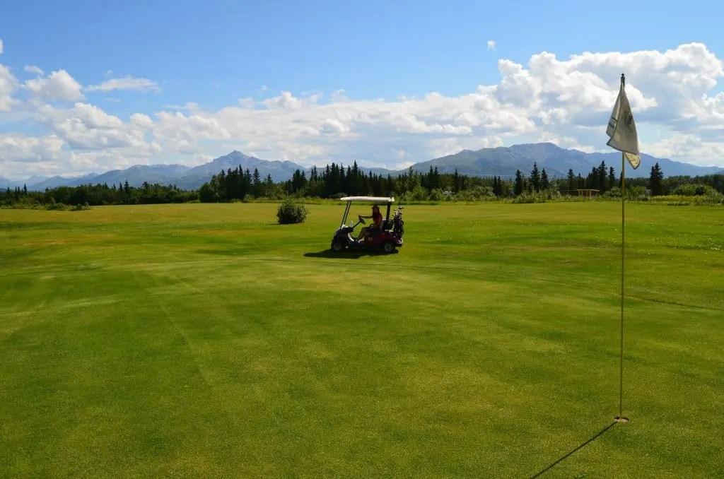 golfing alaska