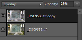 Blend mode and opacity options in Photoshop Element