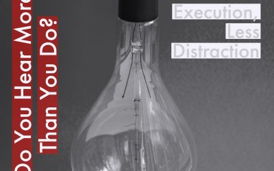 Realtors, More Execution and Less Distraction