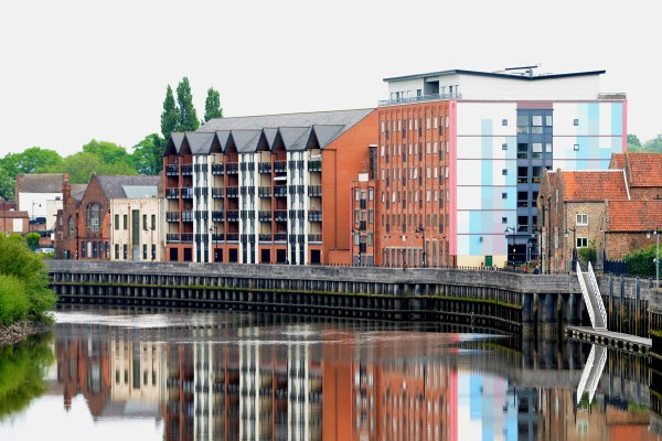 Gainsborough riverside view