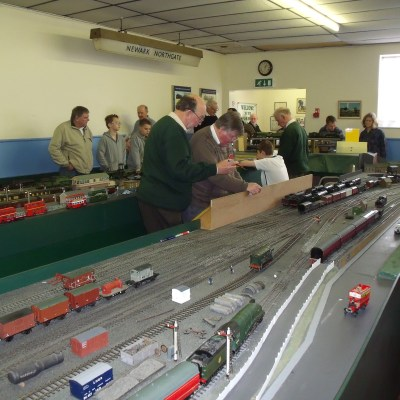 Visitors to Model Railway