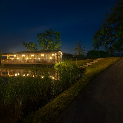 Swan Lodge Night Caistor Lakes photo by Jigsaw Photography Ltd