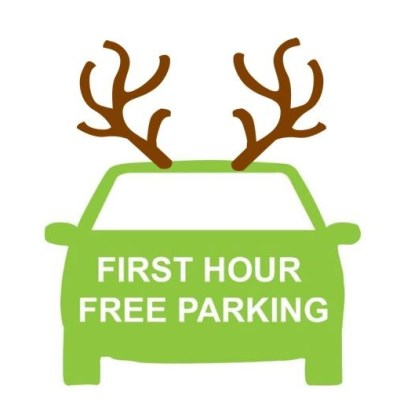 1 hour free at Christmas