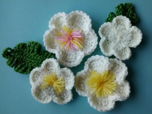 crochet may blossom