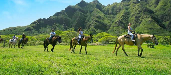 Kualoa Ranch Horseback Adventure Package