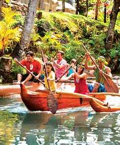 Games & Demonstrations at Polynesian Cultural Center