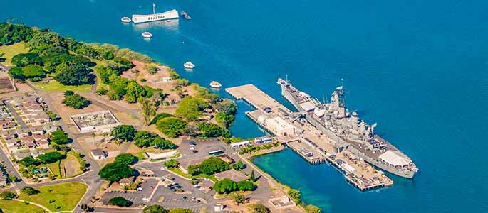 Pearl Harbor Visitor's Center – Battleships of World War II