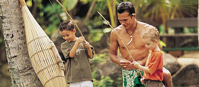 Island Demonstrations At The Polynesian Cultural Center