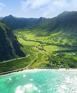 Stunning Views of Oahu at Kualoa Ranch