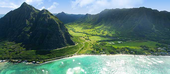 Kualoa Ranch Zip-line Tour with Transportation