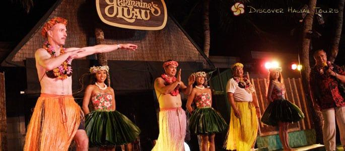 Non-Traditional Luau Performance