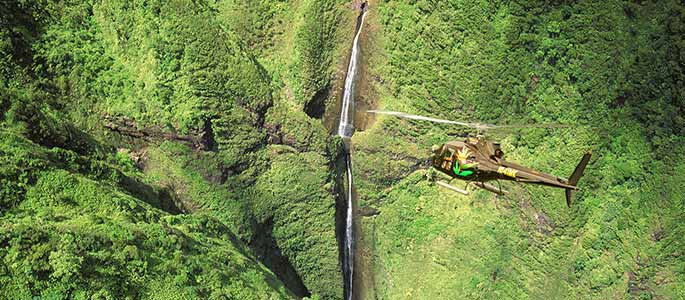 Sacred Falls Helicopter
