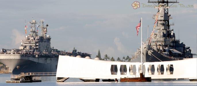 USS Arizona Memorial & Battleship Missouri