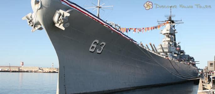 The Mighty Mo – Photo Courtesy Battleship Missouri Memorial