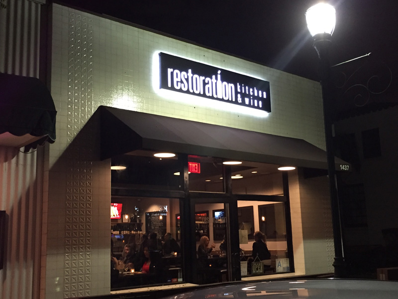 Restoration Kitchen Offers Eclectic Food & Wine To Torrance