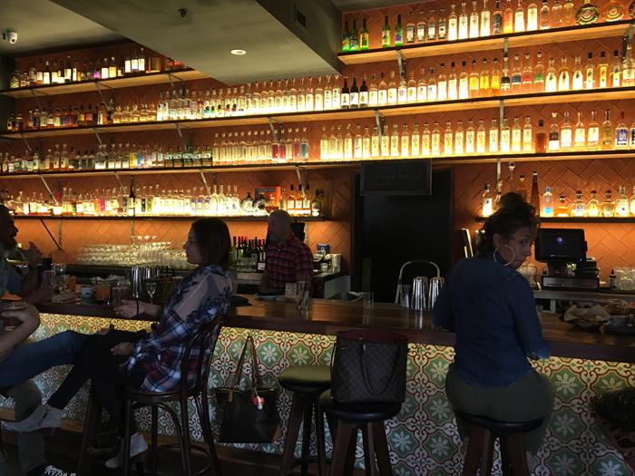 The Bar inside Madre