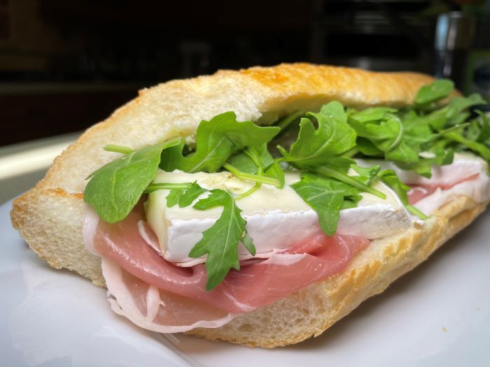 Small French Bakery - sandwich