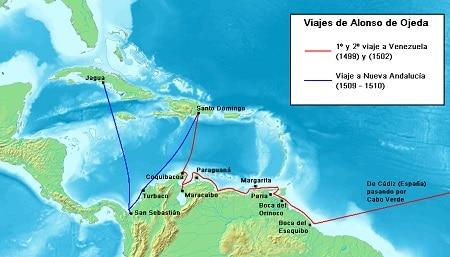 Alonso_de_Ojeda voyage map web