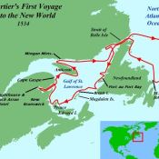 49-First Voyage of Jacques Cartier