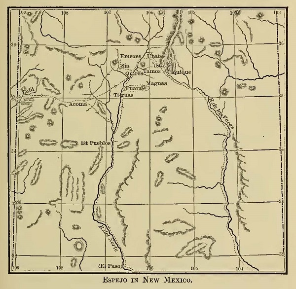 map Espejo in New Mexico by Bancroft web