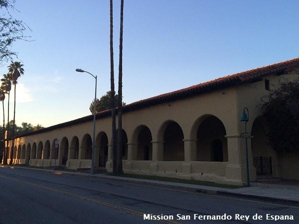 Mission San Fernando Rey de Espana web