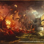 74-Francis Drake and the Gravelines Sea Battle