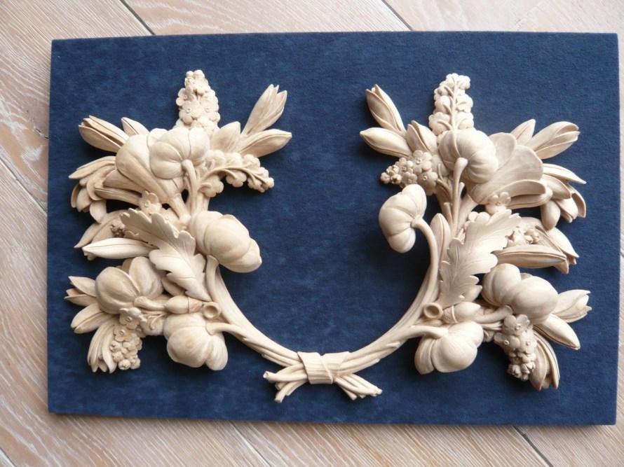 Orlando Gibbons style wood carving