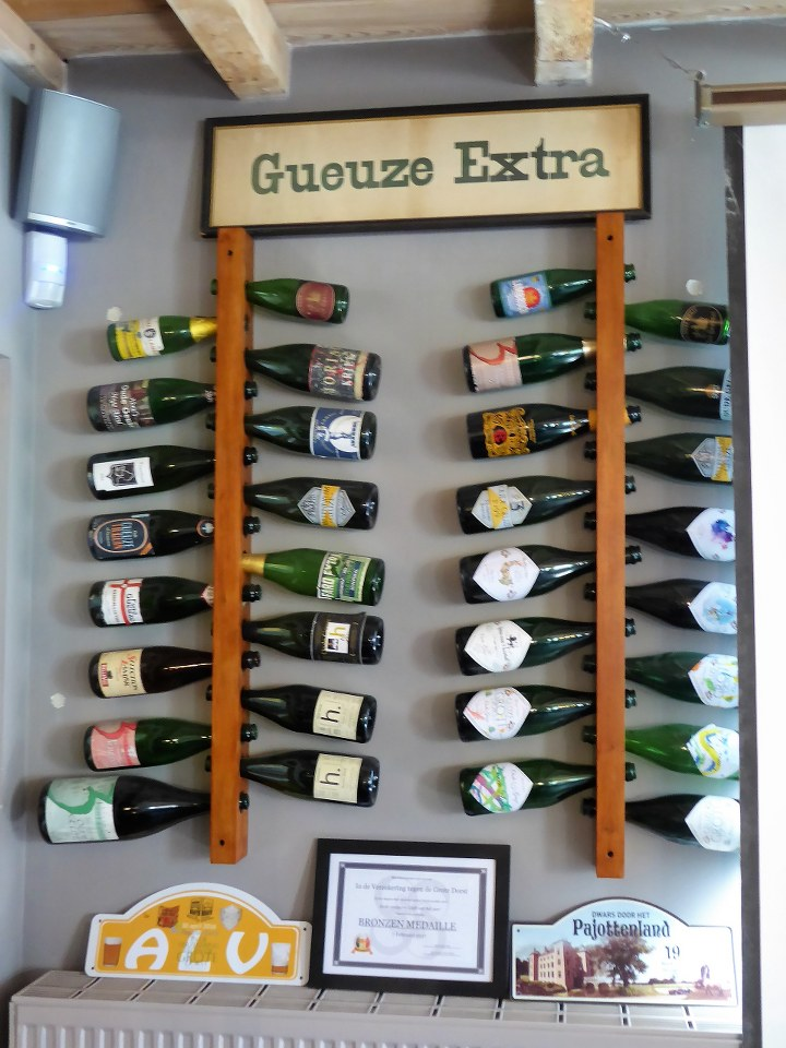 Gueuze and Lambic are the specialty beers of the Grote Dorst