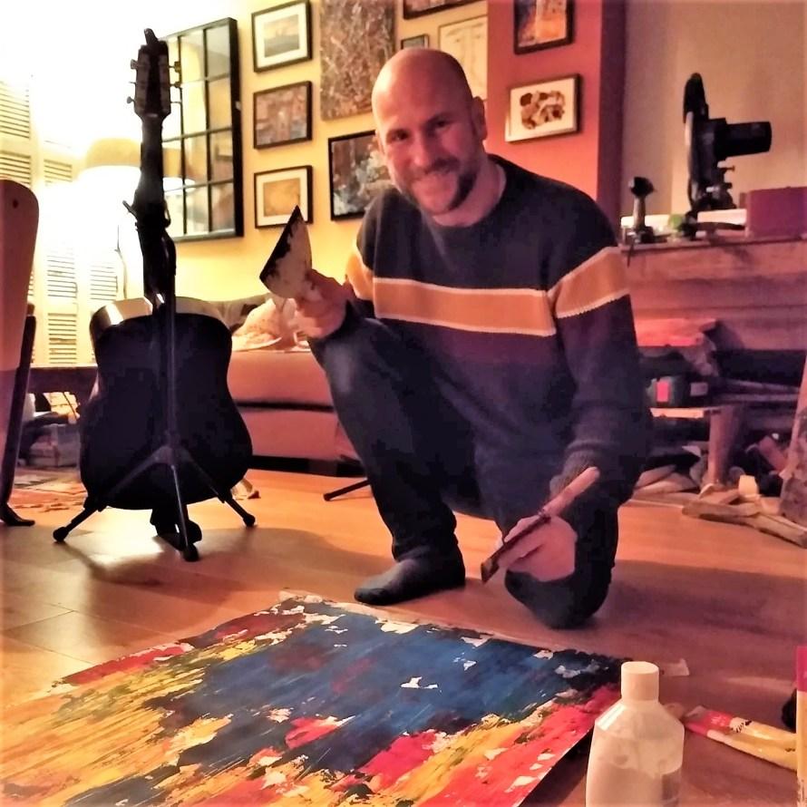 Belgian modern artist Oliver Van Dam is based in Brussels