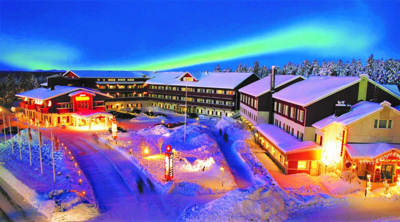 Levi Ski Resort Kittil  Discovering Finland