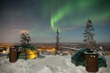 Levi Igloos Kittil - Discovering Finland
