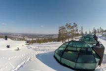 Finland Ice Igloos