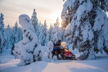 Two Hour Snowmobiling Safari In Rovaniemi