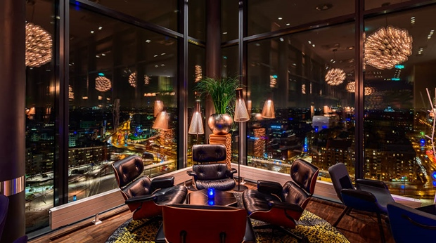 the living room with sky bar scandinavian furniture hotel clarion lounge helsinki discovering finland