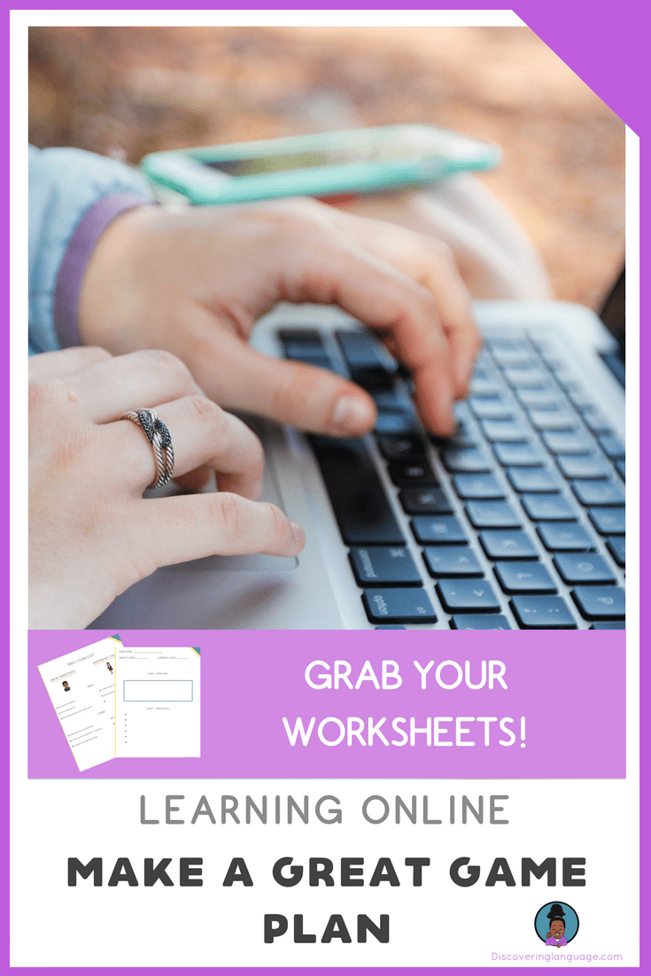 Learning Online: Game Plan